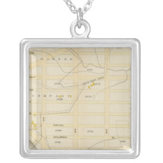 New York 30 Silver Plated Necklace