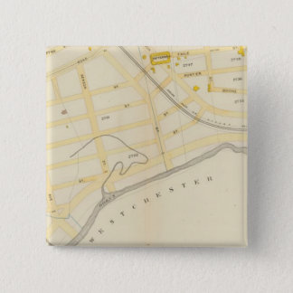 New York 31 15 Cm Square Badge