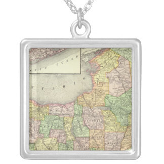 New York 31 Silver Plated Necklace
