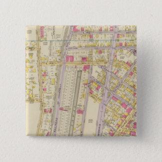 New York 32 15 Cm Square Badge