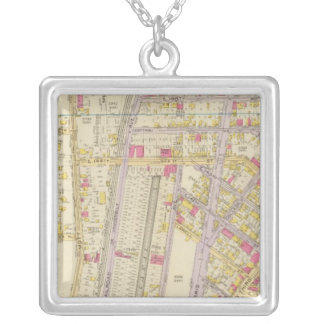 New York 32 Silver Plated Necklace