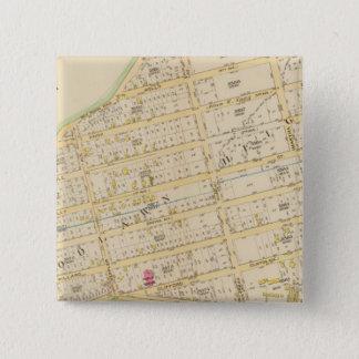 New York 34 15 Cm Square Badge