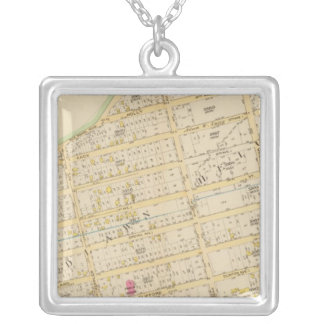 New York 34 Silver Plated Necklace
