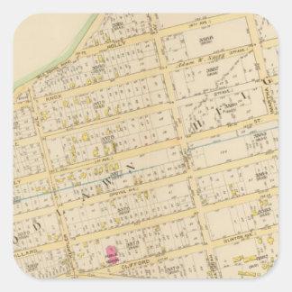 New York 34 Square Sticker
