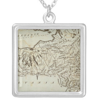 New York 36 Silver Plated Necklace
