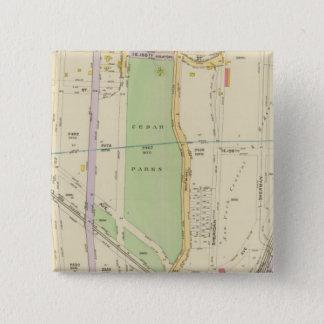 New York 37 15 Cm Square Badge