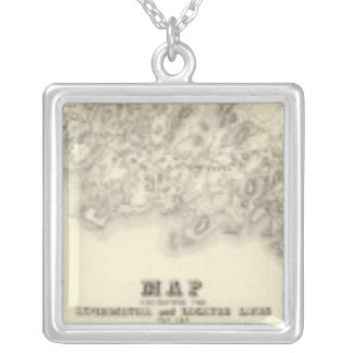 New York 39 Silver Plated Necklace