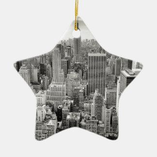 New York 4 Christmas Ornament