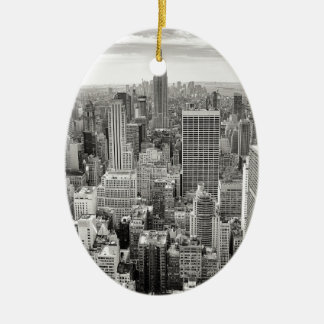 New York 4 Christmas Ornament