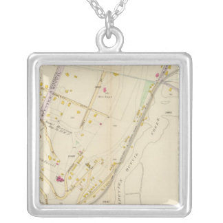 New York 4 Silver Plated Necklace