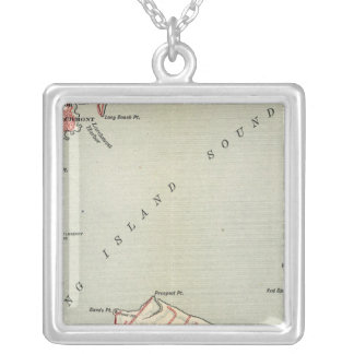New York 6 Silver Plated Necklace
