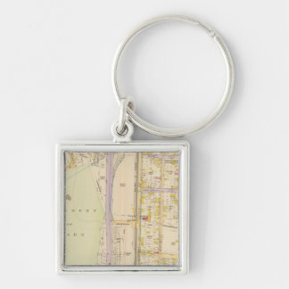 New York 7 Key Ring