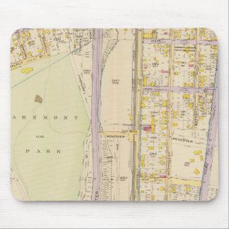 New York 7 Mouse Mat