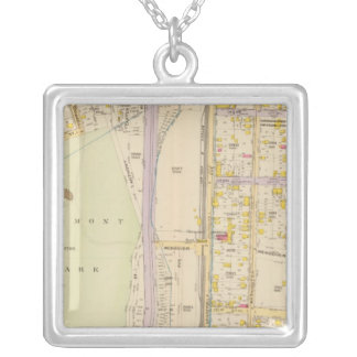 New York 7 Silver Plated Necklace