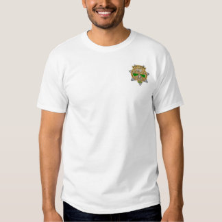 New York 9/11/01 Security Officer Badge T Shirts