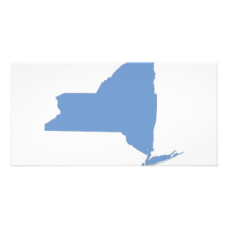 New York: A Blue State Customised Photo Card