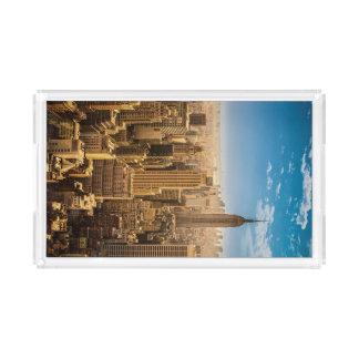 New York Acrylic Tray
