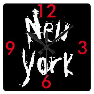 New York Acrylic Wall Clock