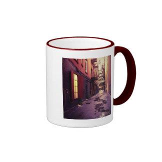 New York Alley Ringer Mug