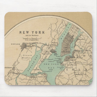New York and its Environments Mouse Mat
