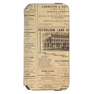 New York and Pennsylvania Oil Advertisements Incipio Watson™ iPhone 6 Wallet Case