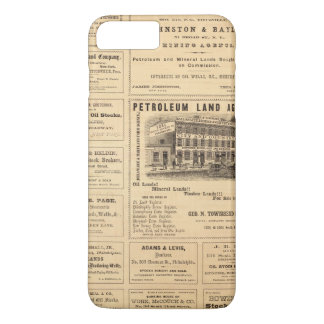 New York and Pennsylvania Oil Advertisements iPhone 8 Plus/7 Plus Case