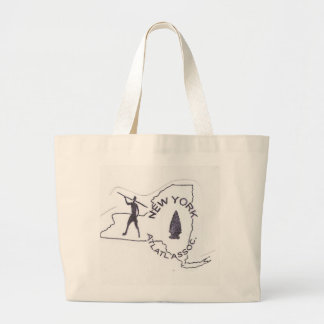 New York Atlatl Large Tote Bag
