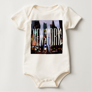 New York Baby Creeper Organic New York Souvenir