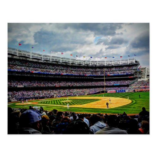 New York Baseball - Opening Day Poster
