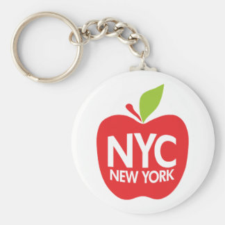 New York Big Apple Key Chains
