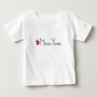 New York Big Apple Love Cool Baby T-Shirt