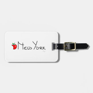 New York Big Apple Luggage Tag
