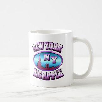 New York Big Apple USA Coffee Mugs