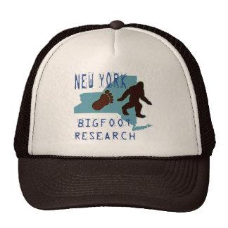 New York Bigfoot Research Cap