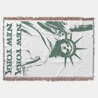 New York Blanket NYC Statue of Liberty Blanket
