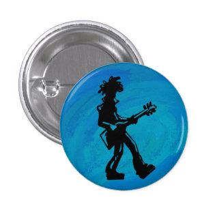 New York Boogie Nights Guitar Blue Pin
