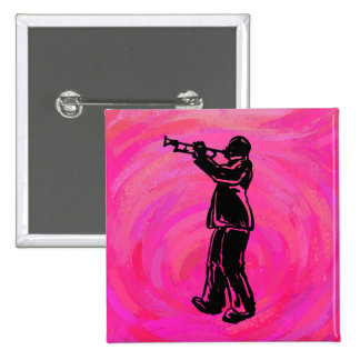 New York Boogie Nights Trumpet Hot pink Pin