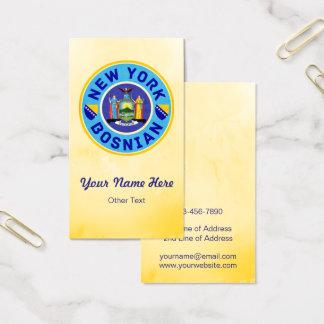 New York Bosnian American Business Cards
