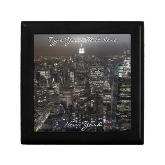 New York Boxes Personalized NYC Jewelry Box