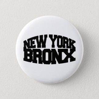 New York Bronx 6 Cm Round Badge