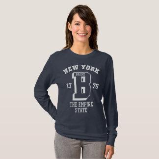 New York Bronx Women's Basic Long Sleeve T-Shirt