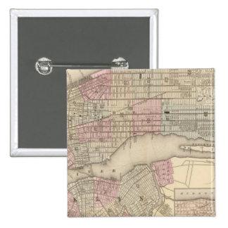 New York, Brooklyn 3 15 Cm Square Badge