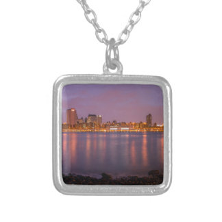 New York Brooklyn At Night Necklace
