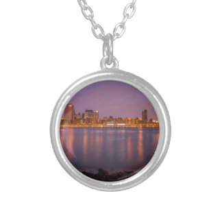 New York: Brooklyn At Night Personalized Necklace