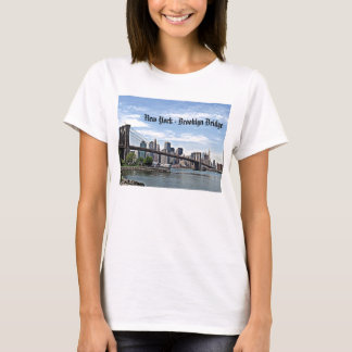New York - Brooklyn Bridge T-Shirt