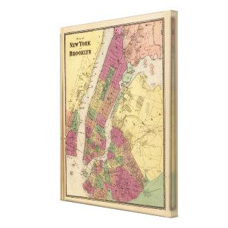 New York, Brooklyn Canvas Print