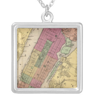 New York, Brooklyn Silver Plated Necklace