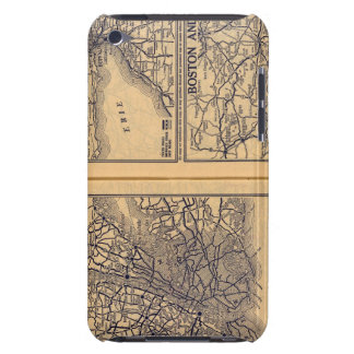 New York, Buffalo, Boston iPod Touch Cover