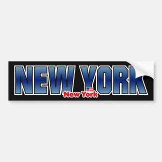 New York Bumper Bumper Sticker