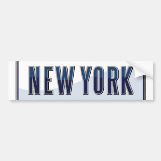 New York Bumper Sticker